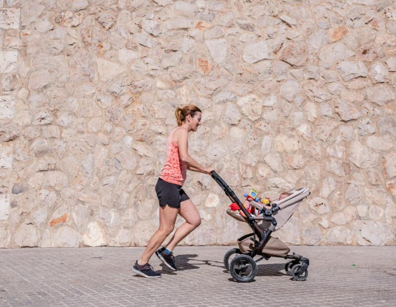 Bieganie z wózkiem